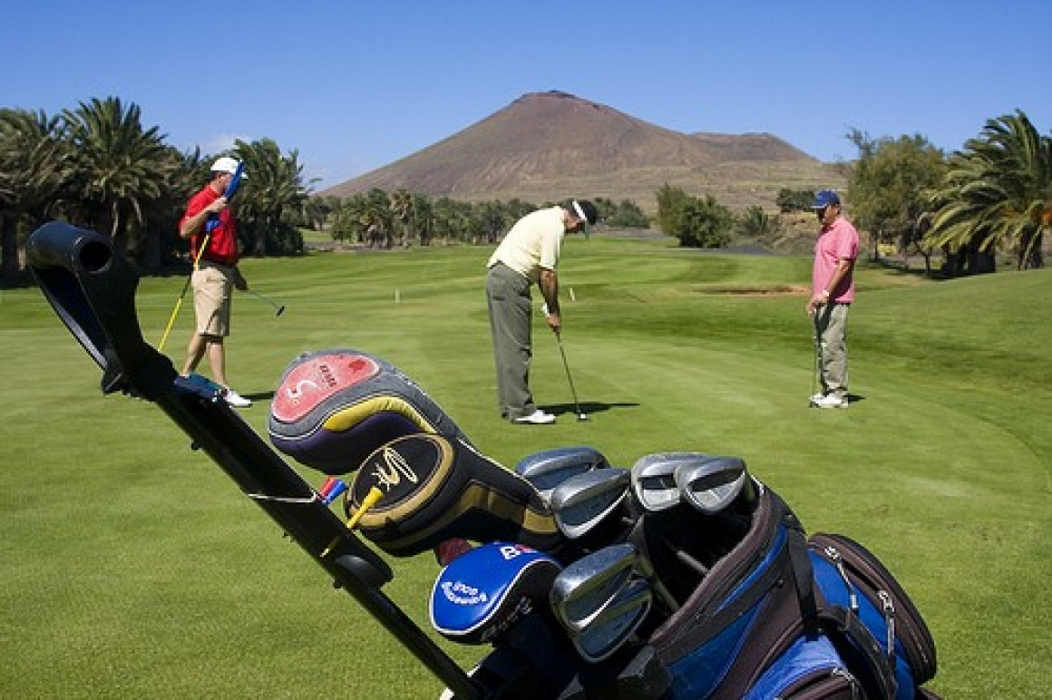 Golf Costa Teguise, Sands Beach Hotel, Lanzarote