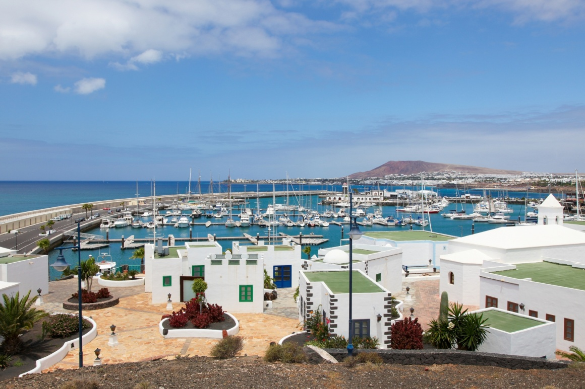 'Playa Blanca in Lanzarote, Canary islands, Spain.' - Lanzarote